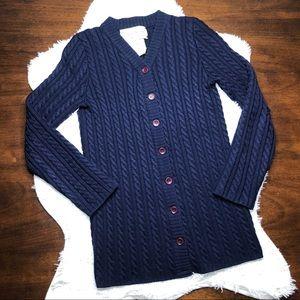 Vintage Yves Saint Laurent Wool Cardigan Sweater